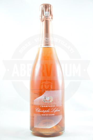 Vino Champagne Rosé de Saignée Brut Nature - Christophe Lefèvre