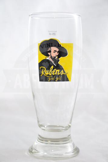 Bicchiere Birra Rubens Goud Gold 25cl
