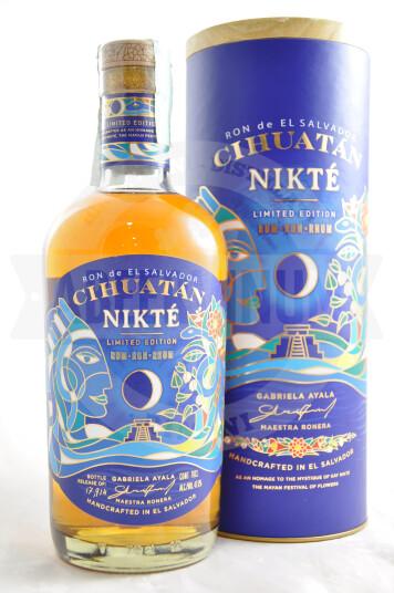 Rum Cihuatán Nikté Limited Edition - Licorera Cihuatán