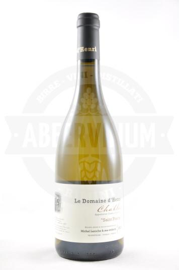 """Vino Francese Chablis """"Saint Pierre"""" 2015 - Le Domaine d'Henri"""
