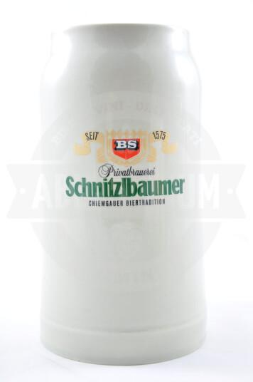 Boccale Birra Schnitzlbaumer 1l Ceramica