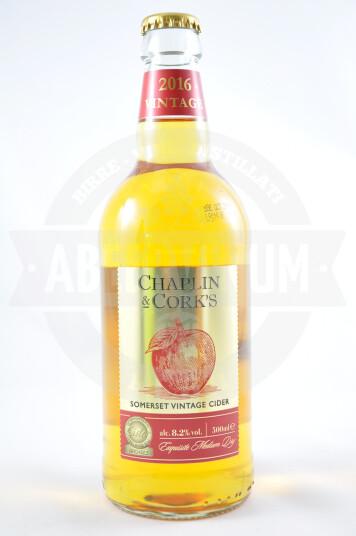 Sidro Somerset Vintage Cider 2016 50cl - Chaplin & cork's