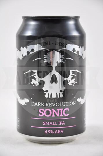 Birra Dark Revolution Sonic lattina 33cl