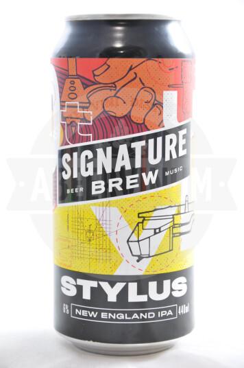 Birra Signature Stylus lattina 44cl