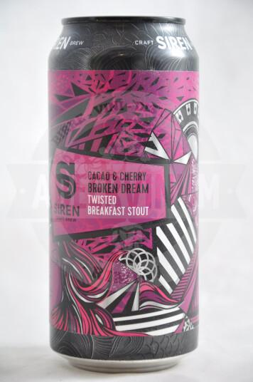 Birra Siren Cacao & Cherry Broken Dream lattina 44cl