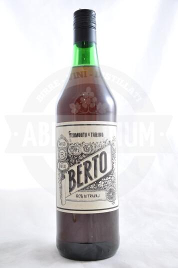 Vermouth di Torino Bèrto Rosso da Travail 100cl - Antica Distilleria Quaglia