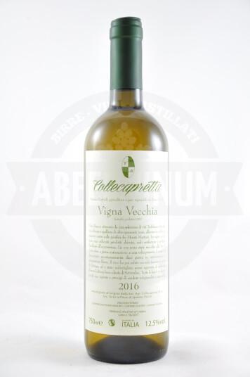 Vino Vigna Vecchia Trebbiano Spoletino IGT Umbria 2016 - Collecapretta