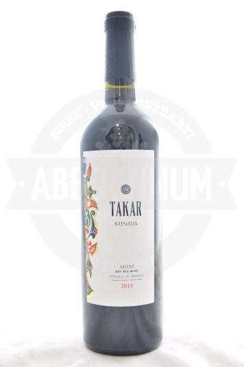Vino Armeno Areni 2018 - Takar