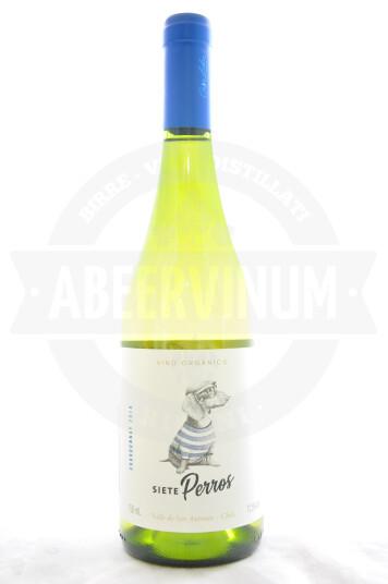 Vino Cileno Siete Perros Chardonnay 2018 - Viña Casalibre