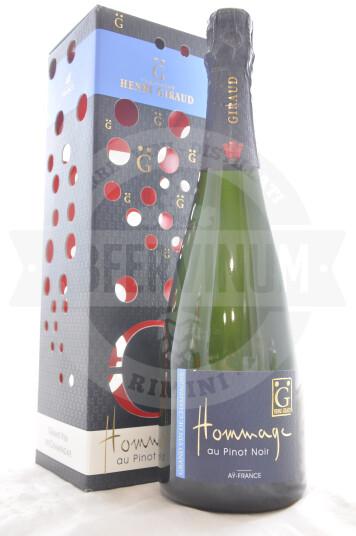 Vino Champagne Hommage au Pinot Noir - Henri Giraud