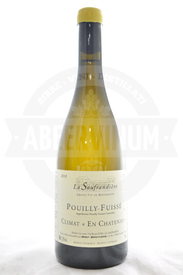 Vino Francese Pouilly-Fuissé Chardonnay 2018 - Bret Brothers & La Soufradiére