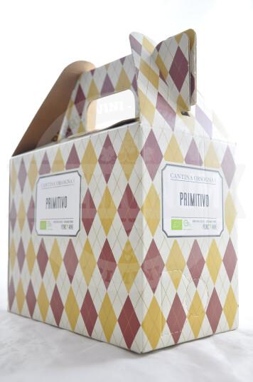 Vino Primitivo Puglia IGP 2020 Bag in Box 5 Litri - Cantina Orsogna