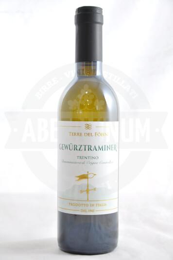 Vino Gewurztraminer Trentino 2020 bottiglia 37.5cl - Terre del Föhn