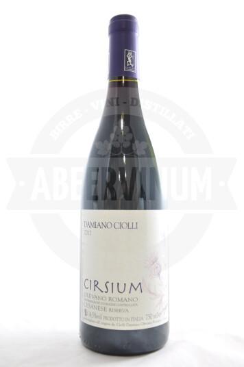 Vino Cesanese di Olevano Romano DOC Cirsium 2017 - Damiano Ciolli
