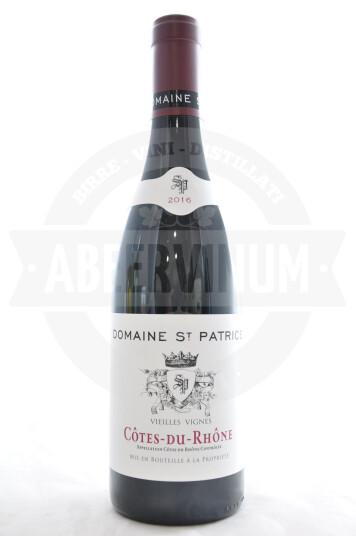Vino Francese Cotes-du-Rhone 2016 - Domaine Saint Patrice