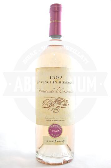"""Vino """"Portocanale di Cesenatico"""" Da Vinci in Romagna 1502 Rubicone IGT Rosato Sangiovese 2020 - Leonardo da Vinci"""