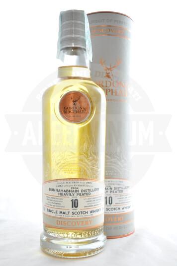 Whisky Gordon & Macphail Discovery Bunnahabhain Heavily Peated  Aged 10 Years 70cl