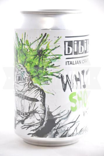 Birra Bibibir White Shock lattina 33cl