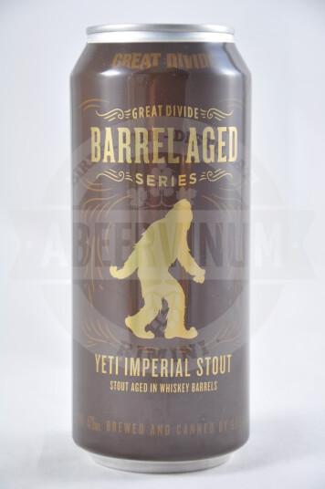 Birra Yeti Whisky Barrel Aged 2019 lattina 47.3 cl