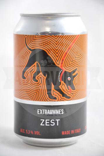 Birra Extraomnes Zest lattina 33cl