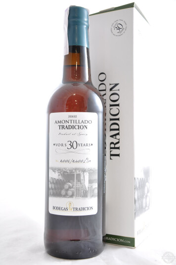 Vino Liquoroso Sherry Pedro Ximénez Amontillado VORS 30 years - Bodegas Tradición