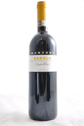 Vino Rosso Barolo DOCG Castelletto 2015 - Manzone Giovanni