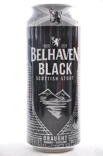 Birra Belhaven Black lattina 44cl