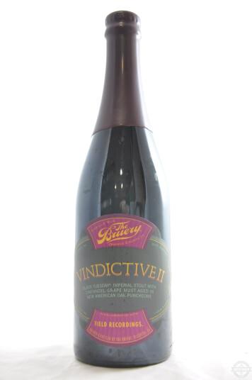 Birra The Bruery Vindictive II 75cl