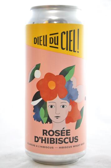 Birra Dieu du Ciel! Rosée d'Hibiscus lattina 473ml