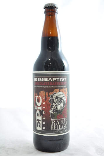 Birra Epic Brewing Big Bad Baptist Chocolate Raspberry bottiglia 65cl