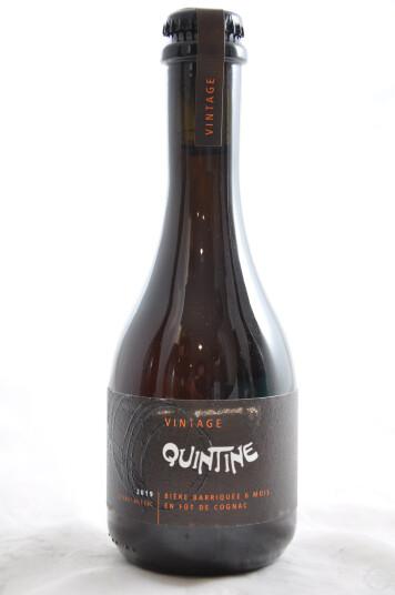 Birra Quintine Vintage Cognac 2019 33 cl