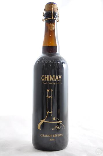 Birra Chimay Grande Rèserve serigrafata 2018 75 cl
