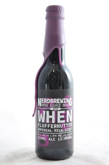 Birra Nerdbrewing When Fluffernutter Imperial Milk Stout 33cl