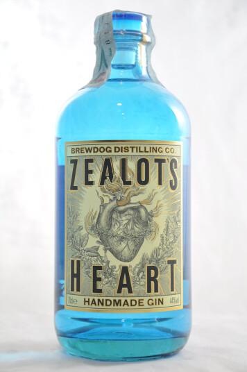Gin Zealot's Heart 70cl - Brewdog Distilling Co.