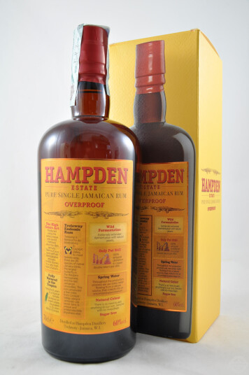Rum Pure Single Jamaican Overproof 70cl - Hampden Estate