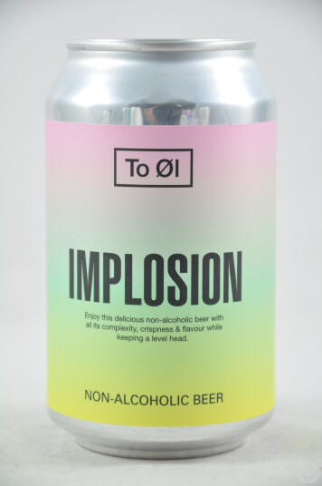 Birra To Øl Implosion lattina 33cl