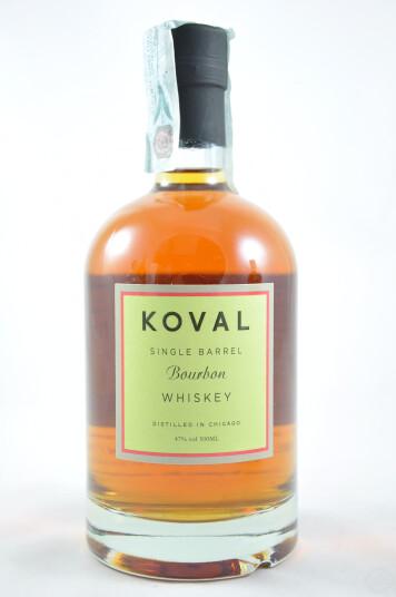 Whiskey Koval Single Barrel Bourbon 50cl