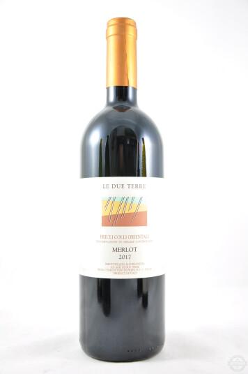 Vino Friuli Colli Orientali Merlot DOC 2017 - Le Due Terre