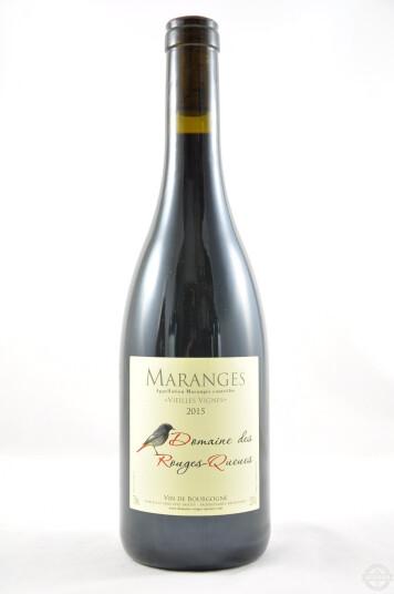 Vino Francese Maranges Vieilles Vignes 2015 - Domaine des Rouges Queues