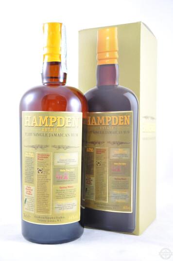 Rum Pure Single Jamaican 70cl - Hampden Estate