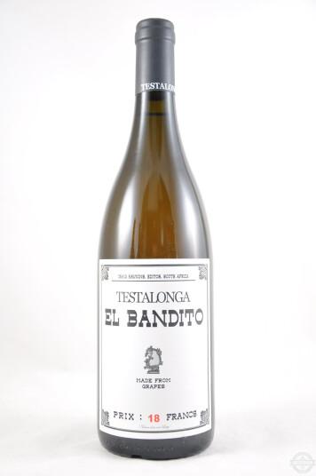 Vino Sudafricano El Bandito Skin 2018 - Testalonga
