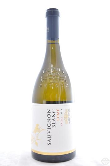 "Vino Greco Ecosystem Sauvignon Blanc Fumé ""Kaliva"" 2018 - Alpha Estate"