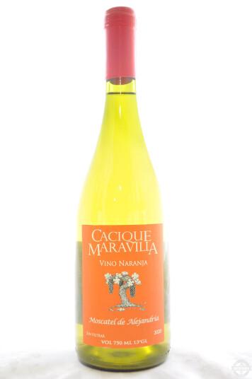 Vino Cileno Vino Naranja 2020 - Cacique Maravilla