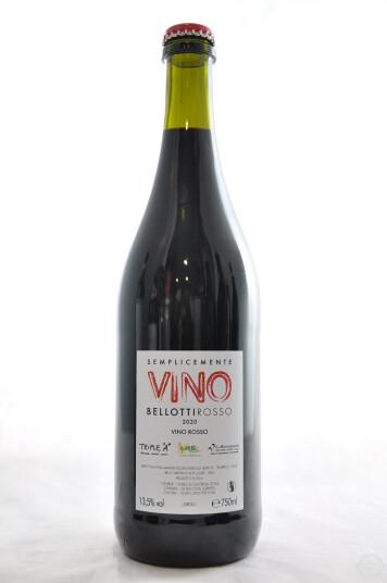 Vino Bellotti Rosso Semplicemente Vino 2020 - Cascina degli Ulivi