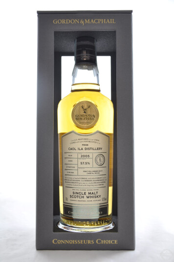 Whisky Gordon & Macphail Caol Ila Connoisseurs Choice 2005 First Fill Sherry Butt Cask Strength Aged 15 Years 70cl