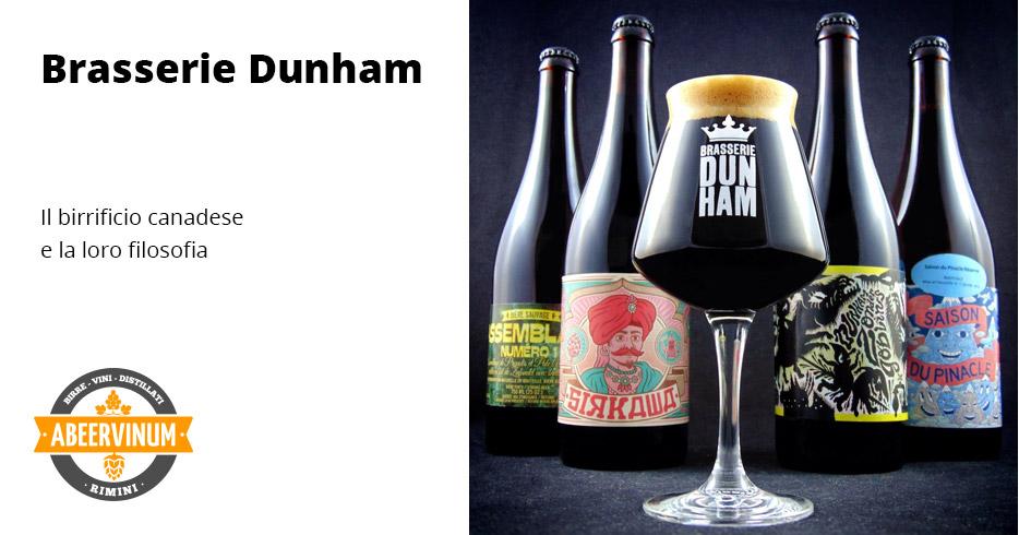 Il birrificio Dunham e la loro filosofia