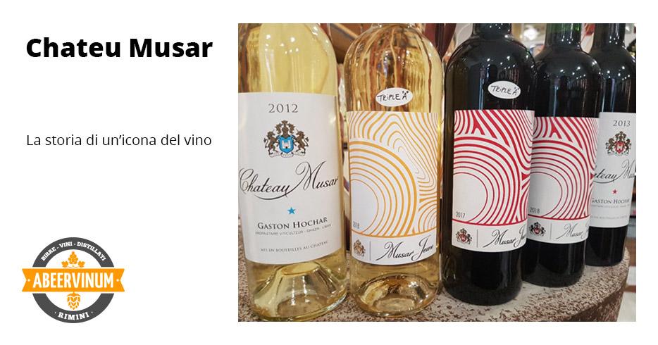 Chateu Musar: La storia di un'icona del vino