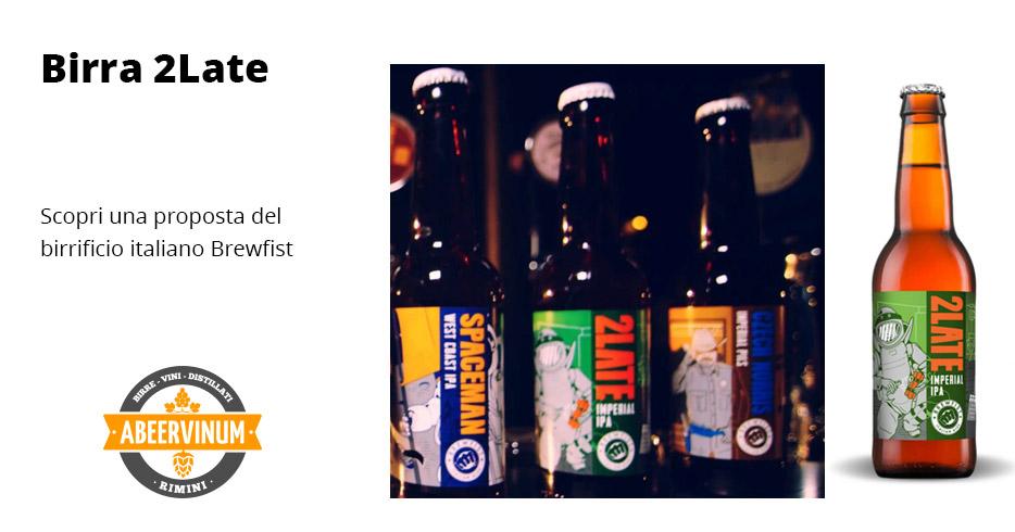 Birra 2Late - Brewfist