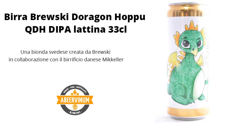 Birra Brewski - Doragon Hoppu