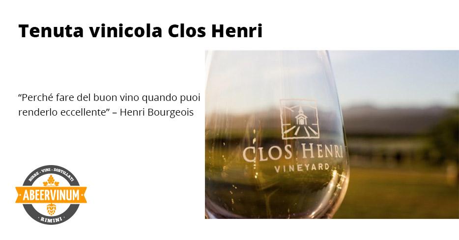 Tenuta vinicola Clos Henri